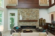 Contemporary Style House Plan - 3 Beds 3.5 Baths 4469 Sq/Ft Plan #928-315 Interior - Family Room