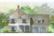 Traditional Style House Plan - 3 Beds 2.5 Baths 2728 Sq/Ft Plan #901-52