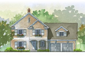 Traditional Exterior - Front Elevation Plan #901-52