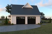 Farmhouse Style House Plan - 4 Beds 2.5 Baths 3190 Sq/Ft Plan #1070-19 Exterior - Other Elevation