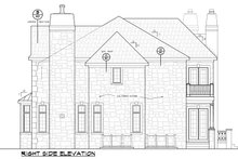 European Exterior - Other Elevation Plan #20-2210