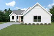 Craftsman Style House Plan - 3 Beds 2.5 Baths 2734 Sq/Ft Plan #1070-99 Exterior - Front Elevation