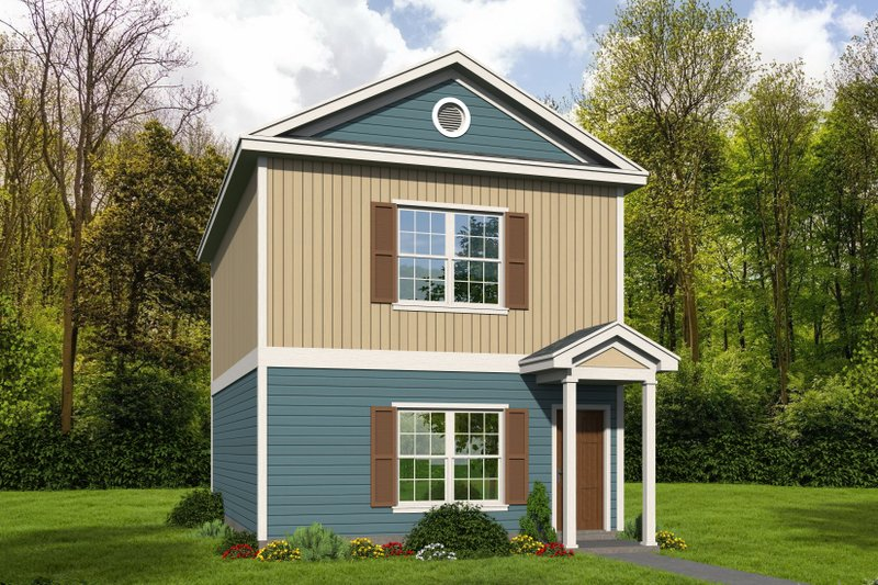 Home Plan - Contemporary Exterior - Front Elevation Plan #932-158