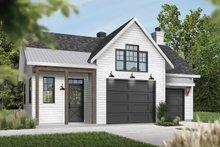 Dream House Plan - Farmhouse Exterior - Front Elevation Plan #23-2731