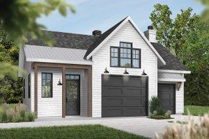Architectural House Design - Farmhouse Exterior - Front Elevation Plan #23-2731