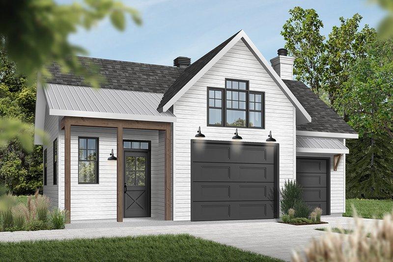 Home Plan - Farmhouse Exterior - Front Elevation Plan #23-2731