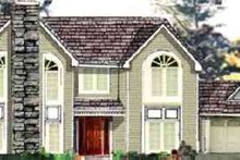 Dream House Plan - Traditional Exterior - Front Elevation Plan #3-205