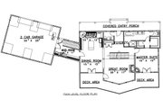 Traditional Style House Plan - 3 Beds 2.5 Baths 2750 Sq/Ft Plan #117-579