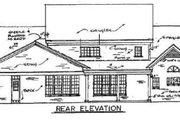 Southern Style House Plan - 4 Beds 3.5 Baths 3619 Sq/Ft Plan #34-121