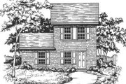 Traditional Style House Plan - 3 Beds 2 Baths 1136 Sq/Ft Plan #30-191