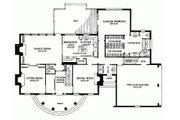 Classical Style House Plan - 4 Beds 3 Baths 3329 Sq/Ft Plan #137-127 Floor Plan - Main Floor Plan