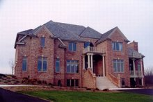 Dream House Plan - European Exterior - Other Elevation Plan #119-240