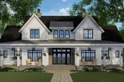 Farmhouse Style House Plan - 4 Beds 4.5 Baths 2743 Sq/Ft Plan #51-1149 Exterior - Front Elevation