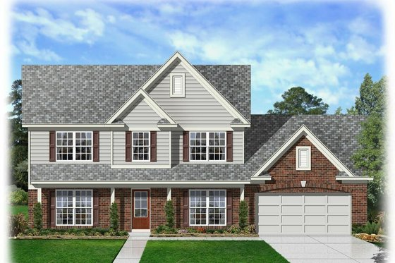 Traditional Exterior - Front Elevation Plan #329-363
