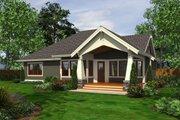 Craftsman Style House Plan - 3 Beds 2 Baths 1880 Sq/Ft Plan #132-199