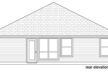 Dream House Plan - Traditional Exterior - Rear Elevation Plan #84-540