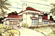 Home Plan - Traditional Exterior - Front Elevation Plan #320-341
