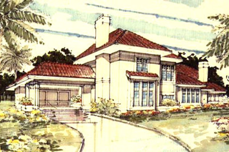 Traditional Exterior - Front Elevation Plan #320-341 - Houseplans.com