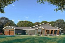 Contemporary Exterior - Front Elevation Plan #923-86