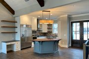 Farmhouse Style House Plan - 3 Beds 3.5 Baths 2741 Sq/Ft Plan #437-97 Interior - Kitchen