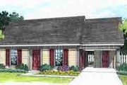 Ranch Style House Plan - 3 Beds 1.5 Baths 1168 Sq/Ft Plan #45-254 Exterior - Front Elevation