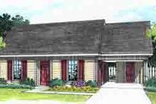 Dream House Plan - Ranch Exterior - Front Elevation Plan #45-254