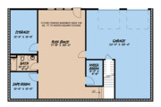 Country Style House Plan - 3 Beds 4 Baths 3870 Sq/Ft Plan #923-126