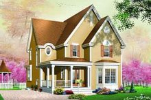 Country Exterior - Front Elevation Plan #23-551
