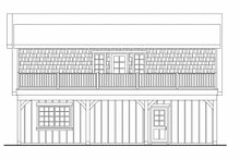 Home Plan - Farmhouse Exterior - Other Elevation Plan #124-893