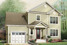 Traditional Exterior - Front Elevation Plan #23-659