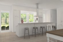 Farmhouse Interior - Kitchen Plan #888-7