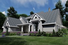 Architectural House Design - Taupe