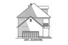 House Plan Design - Southern Exterior - Other Elevation Plan #17-258