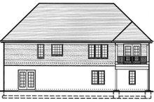 Traditional Exterior - Rear Elevation Plan #46-400