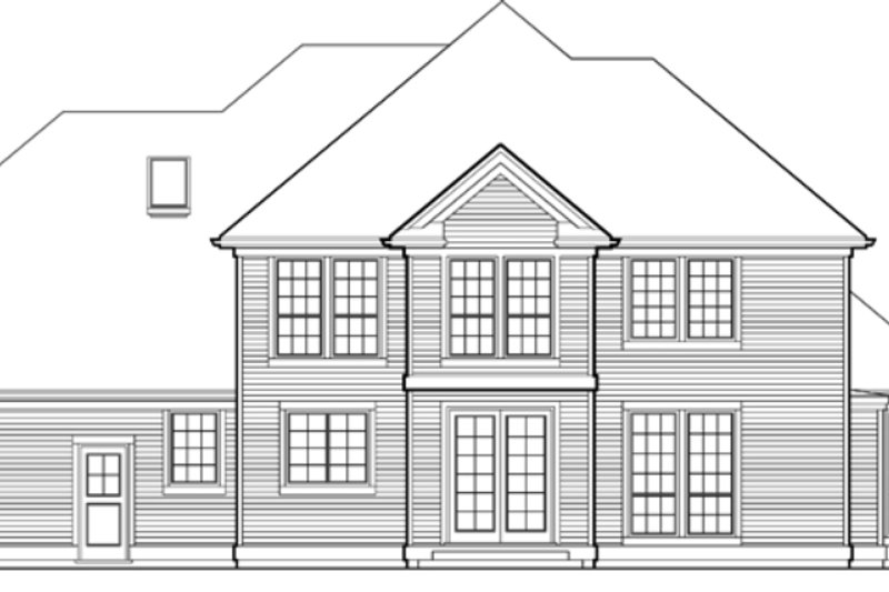 4 bedroom 3400 square foot European house plan