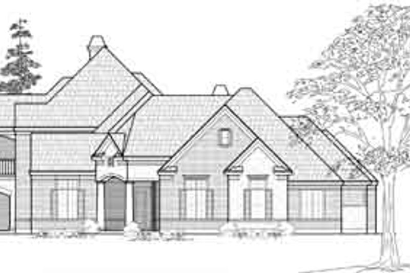 Traditional Exterior - Front Elevation Plan #61-364 - Houseplans.com