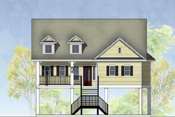 Exterior - Front Elevation Plan #575-6