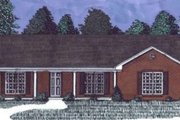 Ranch Style House Plan - 3 Beds 2 Baths 1423 Sq/Ft Plan #69-101