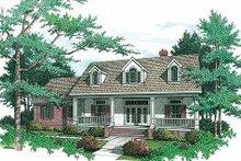 Farmhouse Exterior - Front Elevation Plan #45-133