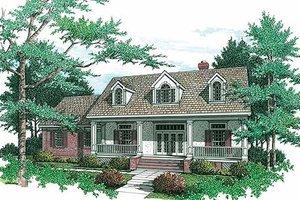 Architectural House Design - Farmhouse Exterior - Front Elevation Plan #45-133