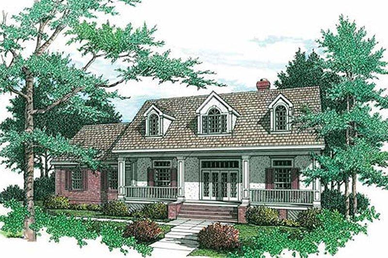 Home Plan - Farmhouse Exterior - Front Elevation Plan #45-133
