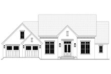 Architectural House Design - Farmhouse Exterior - Front Elevation Plan #430-235