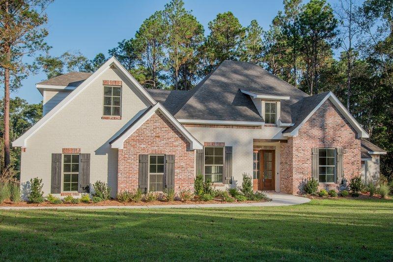 House Plan Design - European Exterior - Front Elevation Plan #430-103