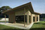 Modern Style House Plan - 3 Beds 1 Baths 1147 Sq/Ft Plan #906-25 Photo