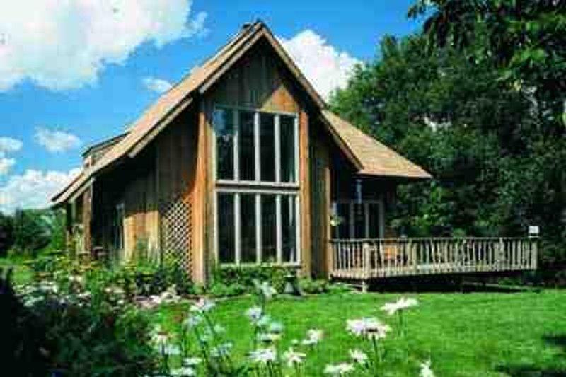 House Blueprint - Exterior - Front Elevation Plan #72-203