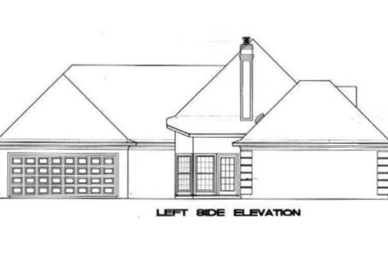 European Exterior - Other Elevation Plan #45-135 - Houseplans.com