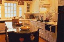 Southern Interior - Kitchen Plan #137-116