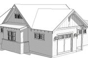 Ranch Style House Plan - 0 Beds 0 Baths 1162 Sq/Ft Plan #895-128