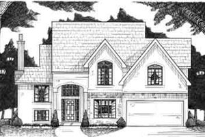 Traditional Exterior - Front Elevation Plan #6-125