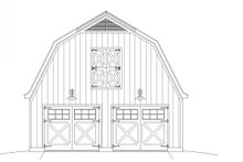 Farmhouse Exterior - Front Elevation Plan #932-159